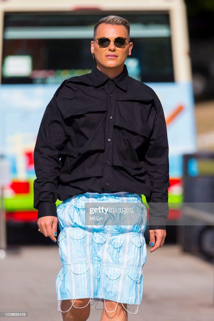Celebrity Sightings In London - September 21, 2020 : News Photo
