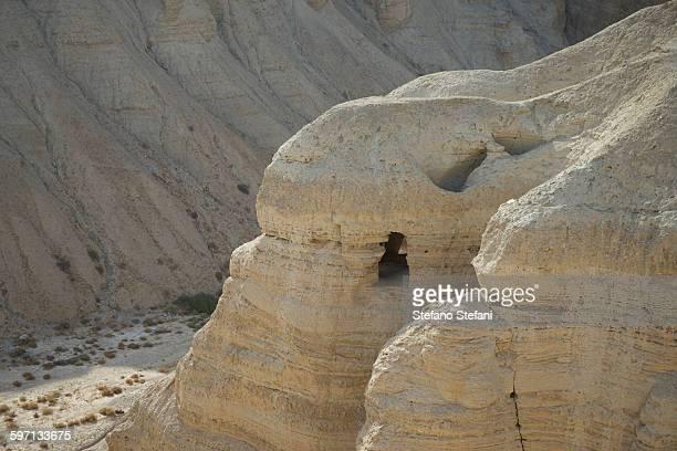 Israel, Caves of Qumran in the Judean Desert