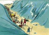Israel Crosses the Red Sea