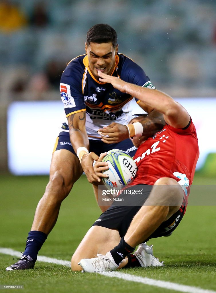 Super Rugby Rd 11 - Brumbies v Crusaders