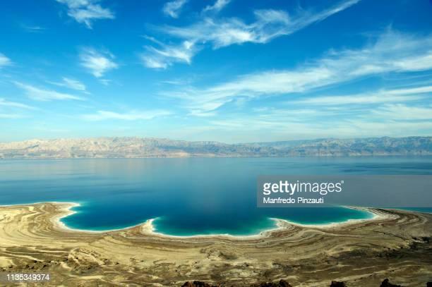 israel , dead sea - mar muerto fotografías e imágenes de stock