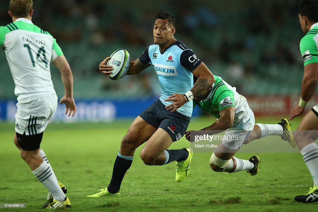 Super Rugby Rd 4 - Waratahs v Highlanders : News Photo