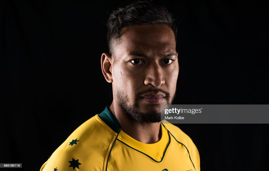 Israel Folau Headshots Session