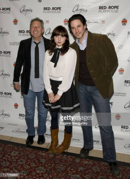 Israel Horovitz Zoe Kazan and Scott Cohen attend The ExLovers Reading of Short Plays by The New York Playwrights Lab May 21 2008 at Westside Theater...