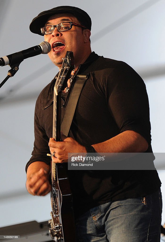Israel Houghton and New Breed performs during the 2012 New