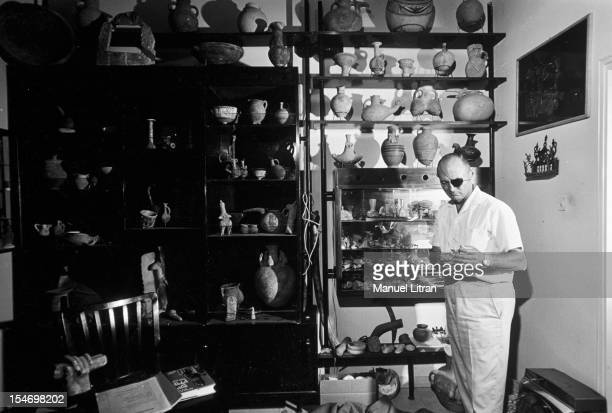 Israel in July 1967 Moshe Dayan was Zahala home in the suburbs of Tel Aviv As archaeologist advises we present his collections of antiques stores it...