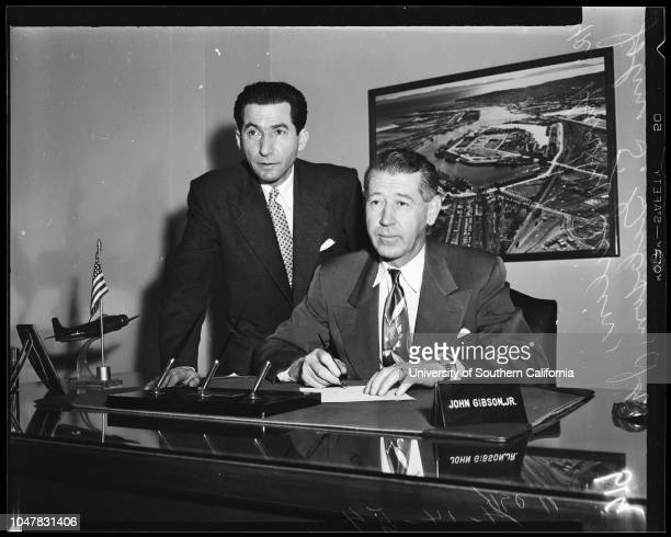 Israel Independence Day 14 April 1954 Harry Beilin John S Gibson Junior Caption slip reads 'Photographer Brunk Date Reporter Reay Assignment Israel...