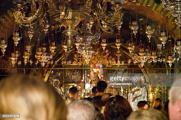 israel, jerusalem, church of the holy sepulchre - pilgrimage stock pictures, royalty-free photos & images