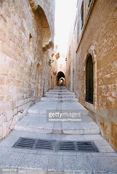 israel, jerusalem, jewish quarter - jerusalem stock pictures, royalty-free photos & images