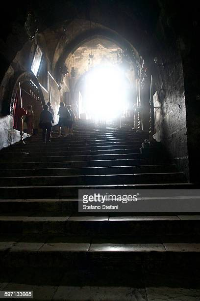 israel, jerusalem, tomb of the virgin mary - mary moody fotografías e imágenes de stock