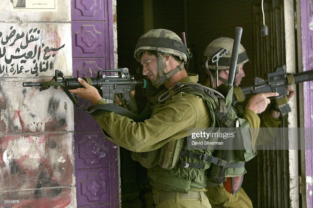 Israel Launches West Bank Military Operation : Stock Photo
