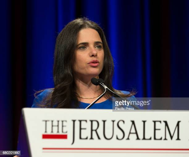 Israel Minister of Justice Ayelet Shaked speaks at 6th Annual Jerusalem Post conference in New York
