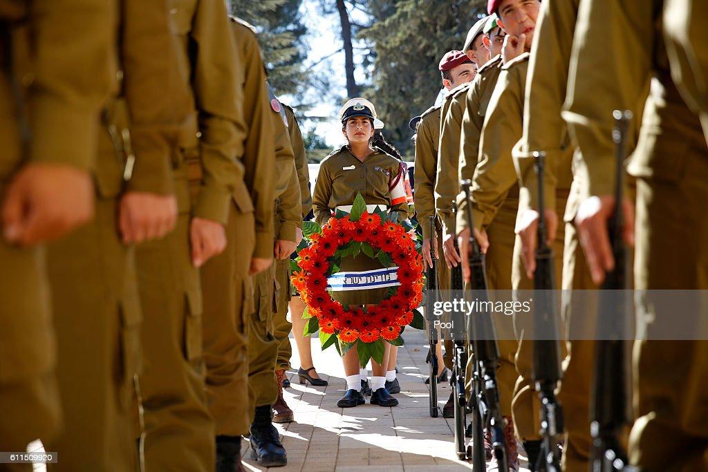 State Funeral Held For Former Israeli President Shimon Peres : News Photo