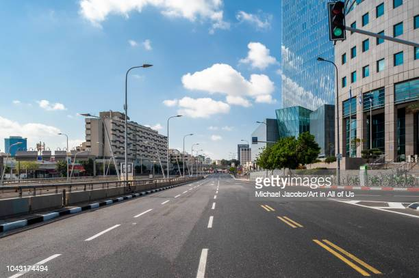 Day of Yom kippur the holiest day of the year in Judaism On this day Israelis refrain of using the car The empty streets are overtaken by pedestrians...
