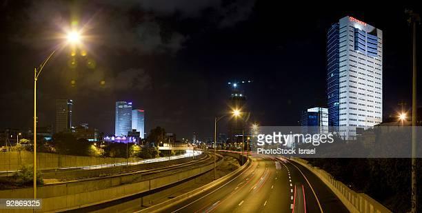 Israel, Tel Aviv, Stitched Panorama