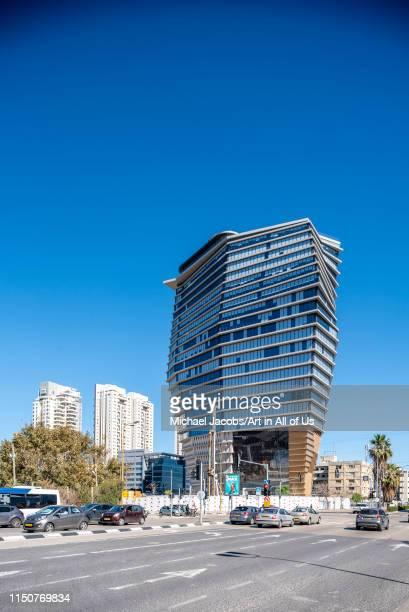 Israel, Tel Aviv-Yafo - 08 March 2019: TOHA designed by Ron Arad architects, Tel Aviv, Israel