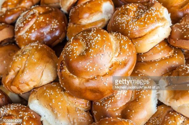 Challah bread sold at shuk hacarmel market