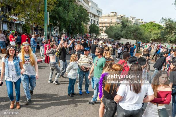 The annual street party is Tel Avivu2019s biggest Purim event Purim is a Jewish holiday that commemorates the saving of the Jewish people from Haman...