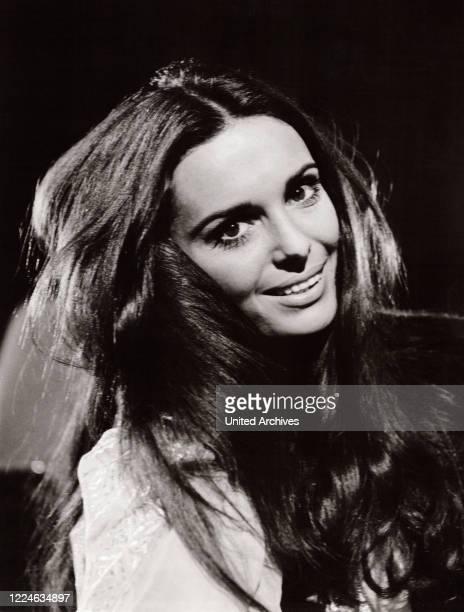 Israeli actress and singer Daliah Lavi, Germany, 1960s. .