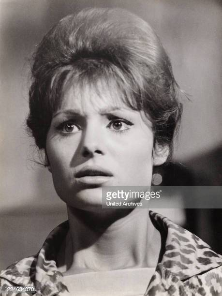 Israeli actress and singer Daliah Lavi in the movie The Return of Doctor Mabuse Germany 1961