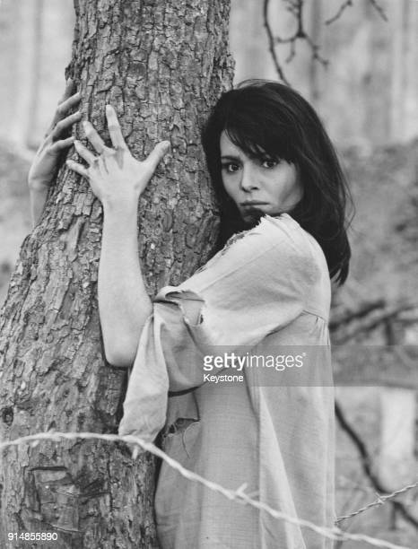 Israeli actress Daliah Lavi stars in the film 'Il Demonio' in which she plays a young woman suspected of demonic possession 9th August 1963