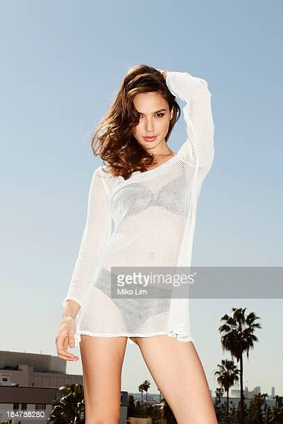 Israeli actress Gal Gadot is photographed for Men's Health Magazine on February 27 in Los Angeles California