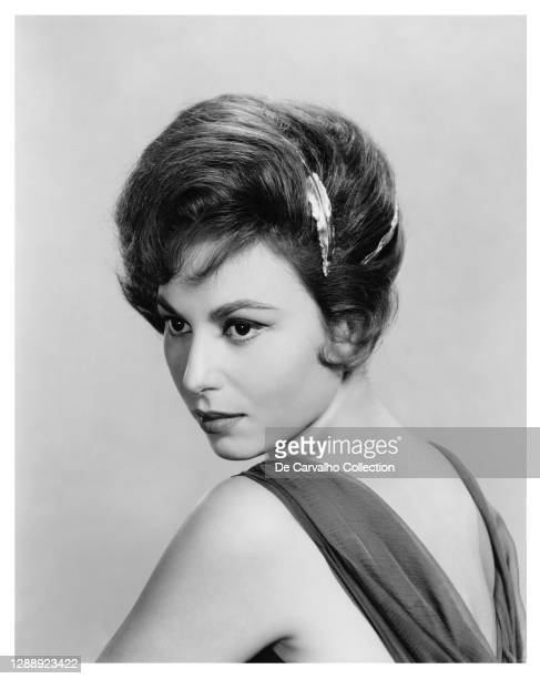 Israeli Actress Haya Harareet in a publicity shot from 1959, United States.
