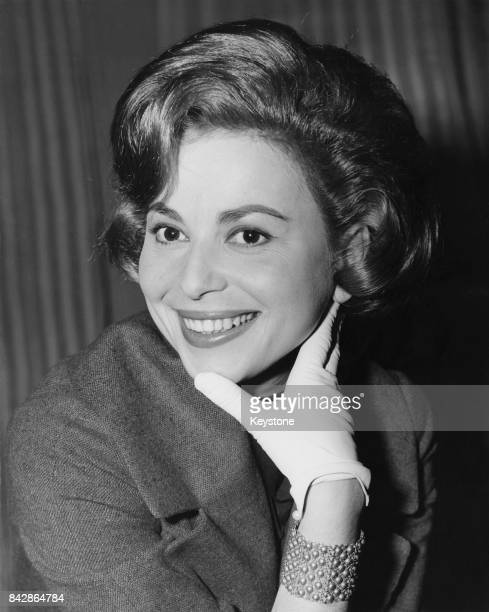 Israeli actress Haya Harareet in London for the premiere of the film 'Ben Hur' 12th December 1959 She plays Esther in the movie