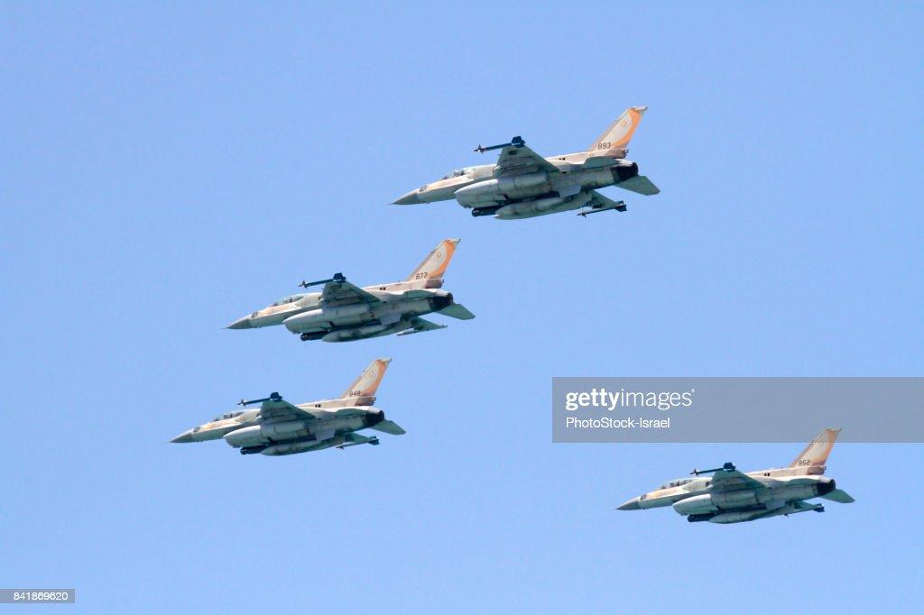 Israeli Air Force F-16 : Stock Photo