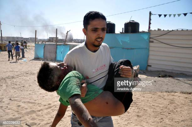 Israeli airstrike targeted Gaza kills 4 Palestinian children while they were playing on the beach in Gaza City, Gaza.