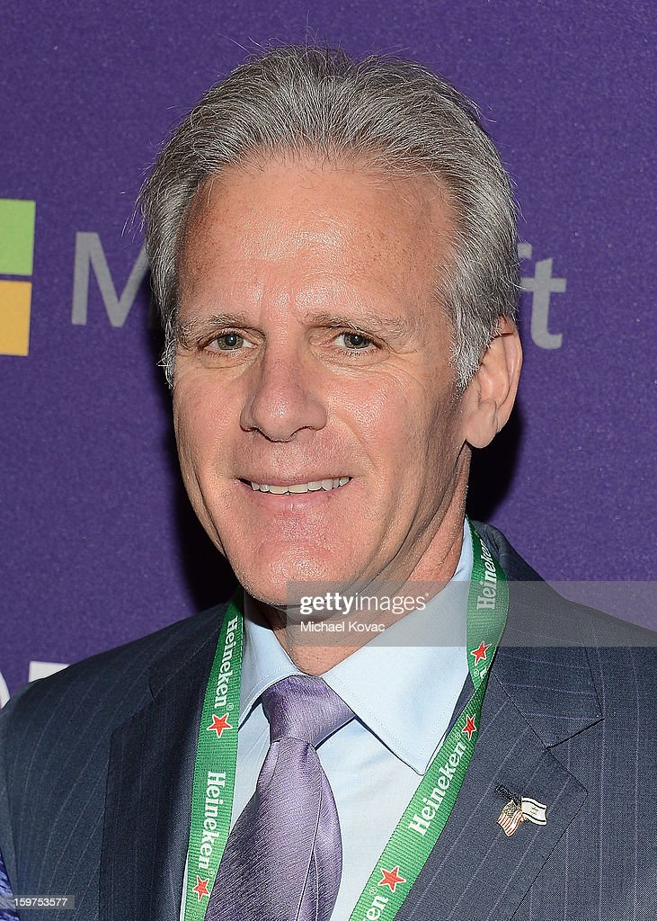 Israeli ambassador to the United States, Michael Oren attends the Inaugural Youth Ball hosted by OurTime.org at Donald W. Reynolds Center on January 19, 2013 in Washington, United States.
