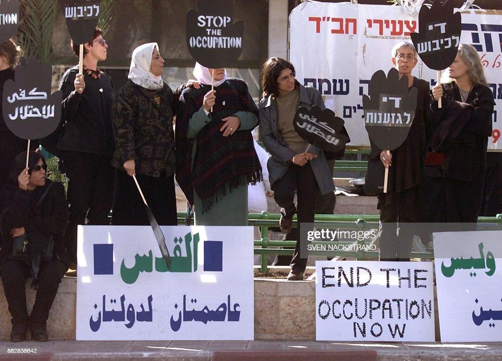MIDEAST-ISRAEL-PALESTINIAN : News Photo
