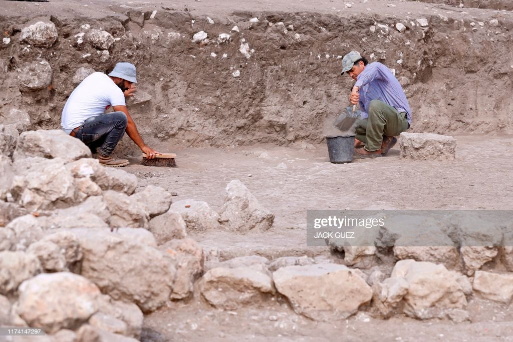 ISRAEL-HISTORY-ARCHAEOLOGY : News Photo