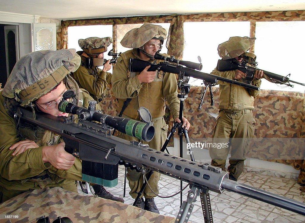 Operation Defensive Shield : News Photo
