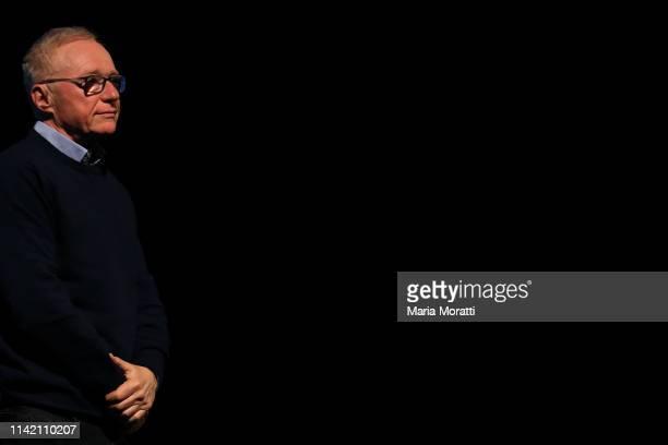 """Israeli author David Grossman attends the Ascona Literature Festival """"Eventi letterari Monte Verità - Sulle spalle dei giganti"""" at PalaCinema Locarno..."""