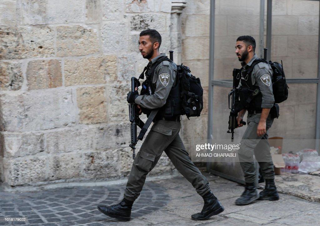 Image result for guards in jerusalem