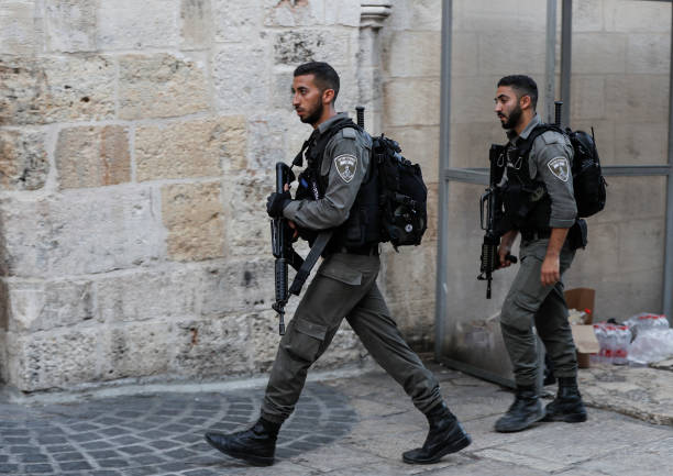Image result for guards in jerusalem