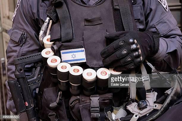 israeli border police - israel bildbanksfoton och bilder