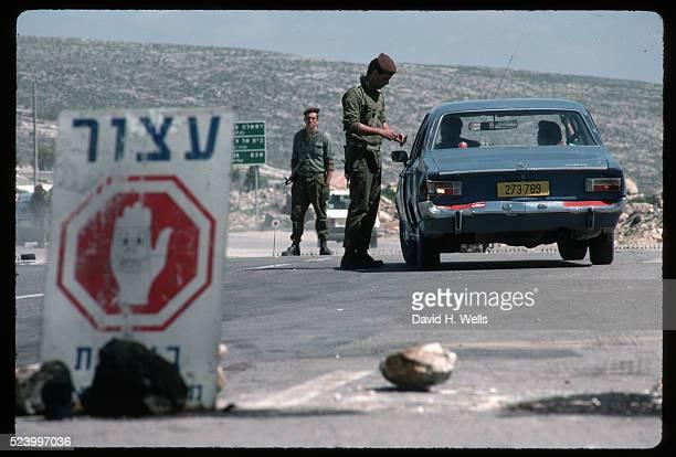 Israeli Checkpoint Near Ramallah