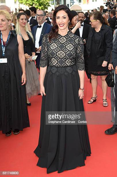 Israeli Culture and Sports minister Miri Regev attends the 'Loving' premiere during the 69th annual Cannes Film Festival at the Palais des Festivals...