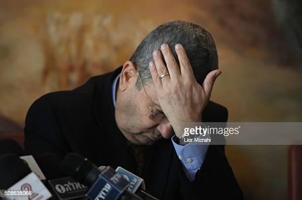 Israeli Defence Minister Ehud Barak is seen in the Knesset, Israeli Parliament on January 17, 2011 in Jerusalem, Israel.
