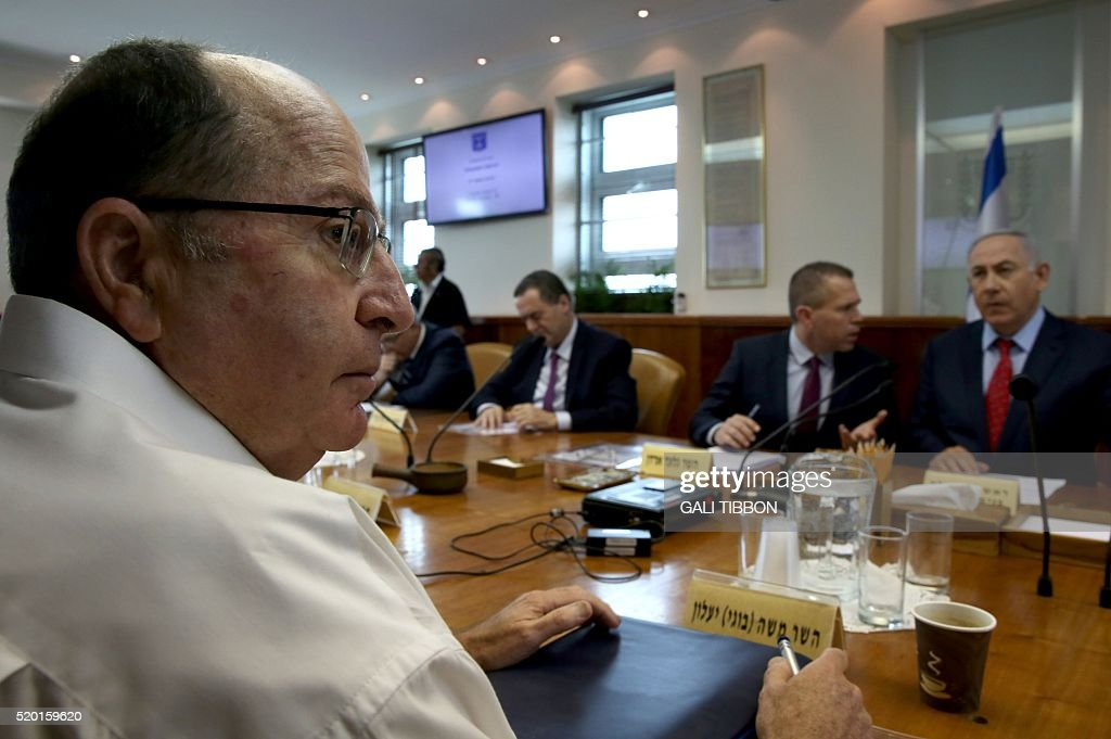 ISRAEL-POLITICS-GOVERNMENT-CABINET-MEETING-NETANYAHU : News Photo