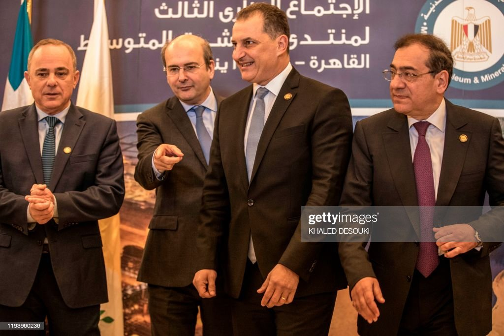 EGYPT-ISRAEL-GREECE-CYPRUS-ITALY-JORDAN : News Photo