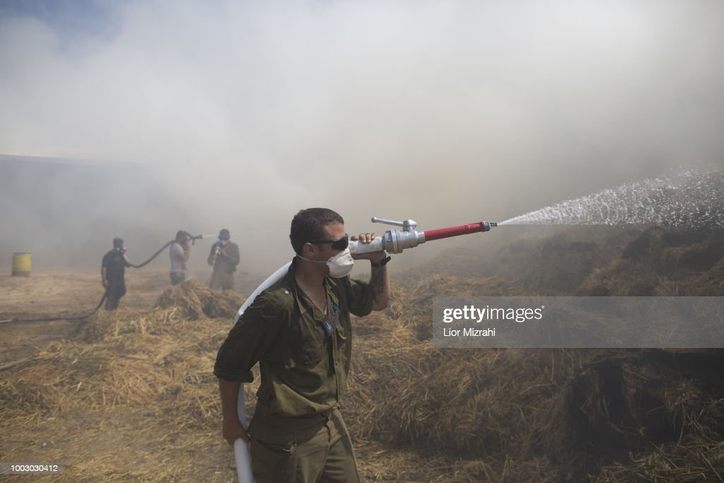 Tensions Rise On The Gaza-Israeli Border