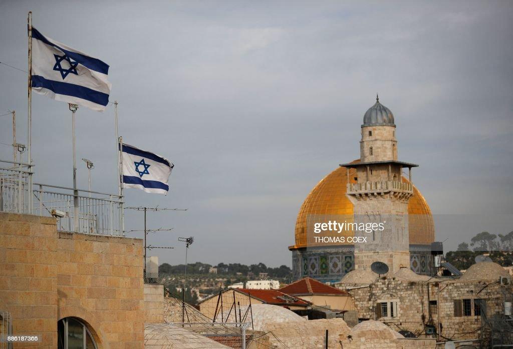 TOPSHOT-ISRAEL-PALESTINIAN-CONFLICT-US : Nachrichtenfoto