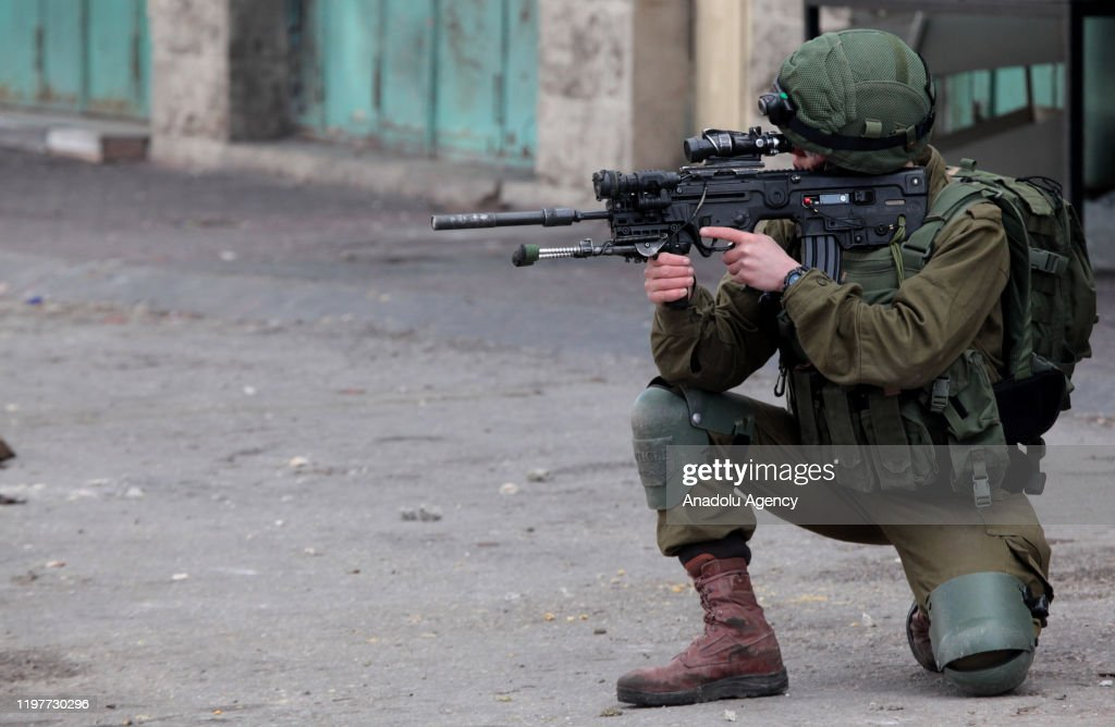 Protest against Trumpâs Mideast plan in West Bank : Nieuwsfoto's