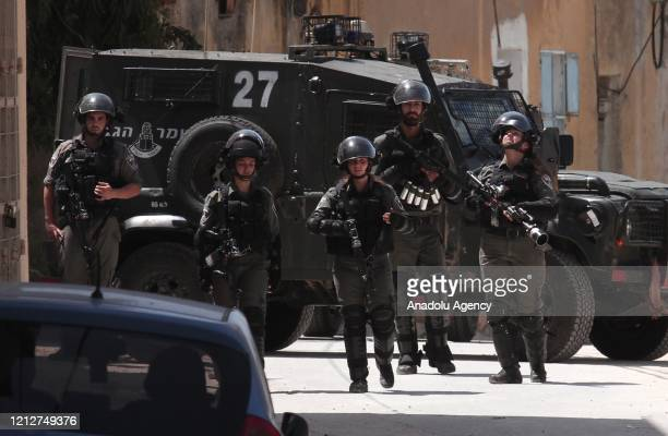 Israeli forces raid Yabed village and take Palestinians into custody after an Israeli soldier killed during an overnight raid carried out to arrest a...