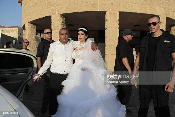 Israeli Jewish Morel Malka who converted to Islam gets married to Palestinian Mahmoud Mansour in spite of the threats of extreme rightwing zionists...