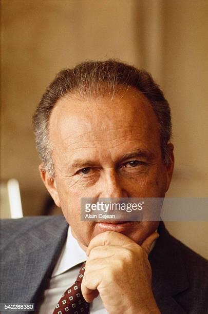 Israeli Labor party representative Yitzhak Rabin.