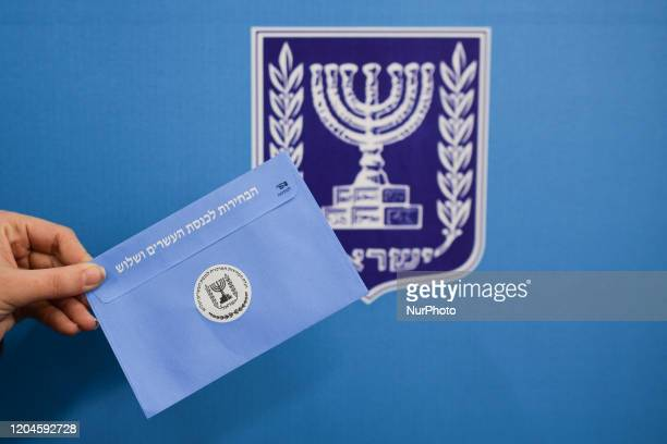 Israeli Legislative Elections takes place today On Monday March 2 in Jerusalem Israel